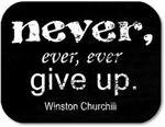 NEVER, EVER, EVER GIVE UP.