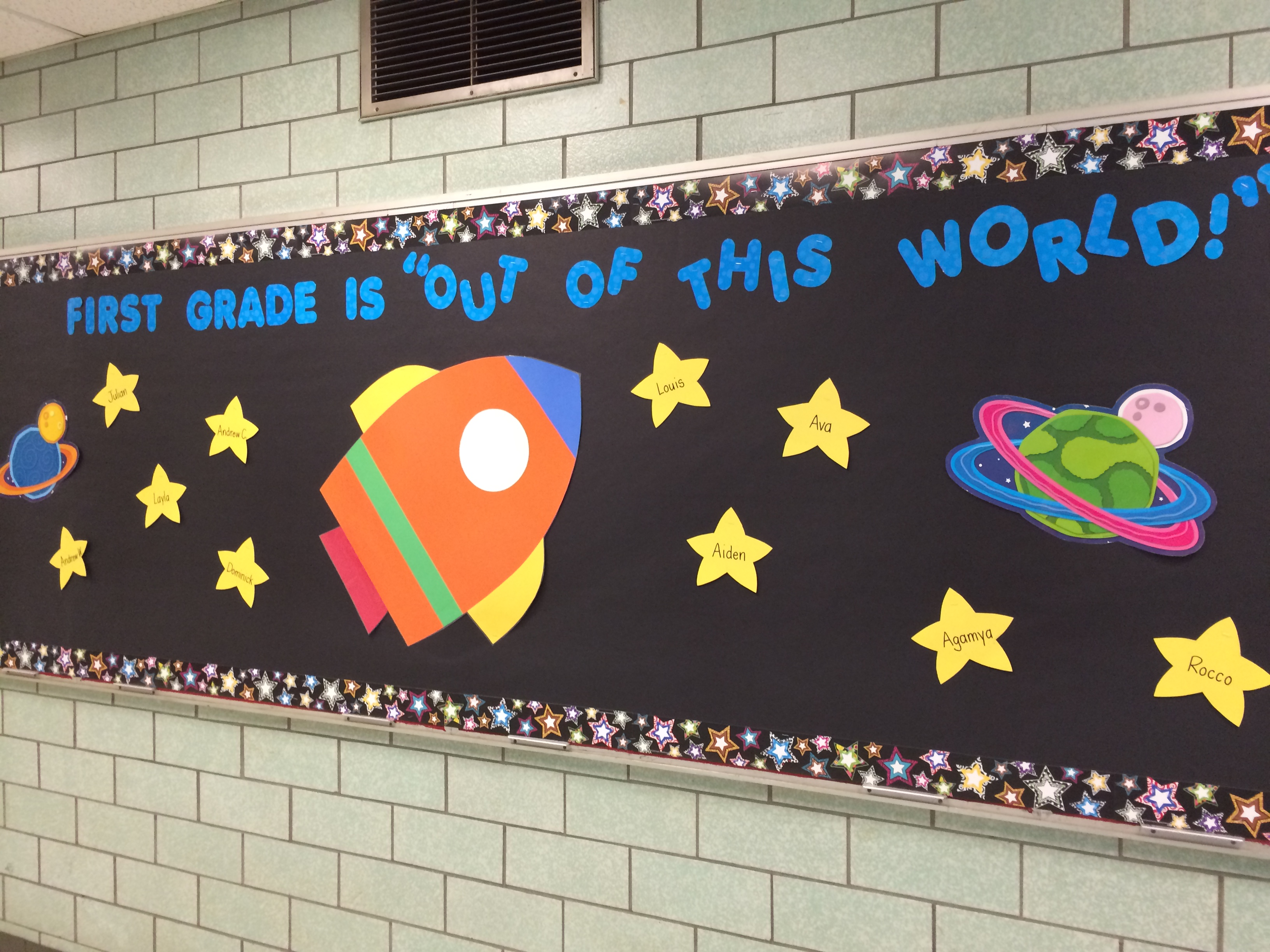 First Grade is Out of This World