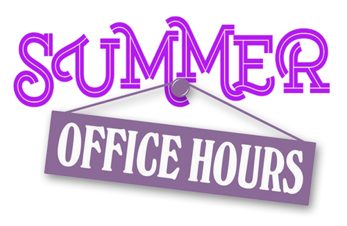 JCHS Main Office Summer Hours