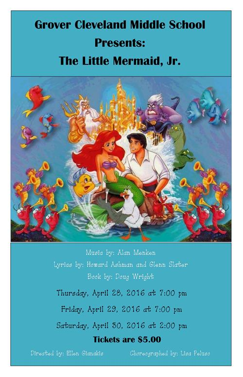 "GCMS Presents ""The Little Mermaid, Jr."""