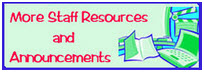 More Staff Resources